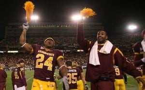 ASU beats Arizona, awaits bowl destiny