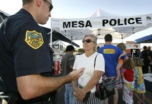 Mesa cops 'BRAVE' crime wave