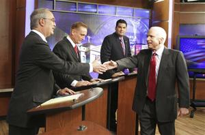 David Nolan, Jerry Josy, Rodney Glassman, John McCain