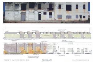Hayden Flour Mill restoration plans
