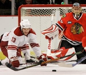 Blackhawks shut out Coyotes
