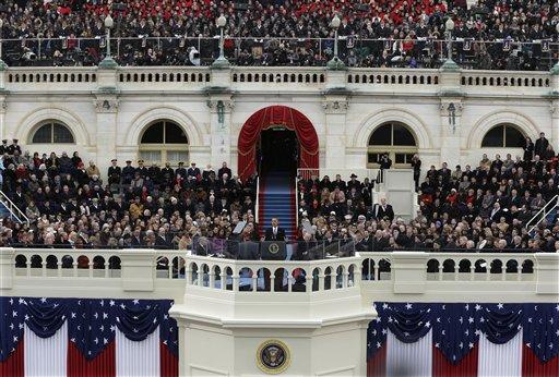 APTOPIX Inaugural Swearing In