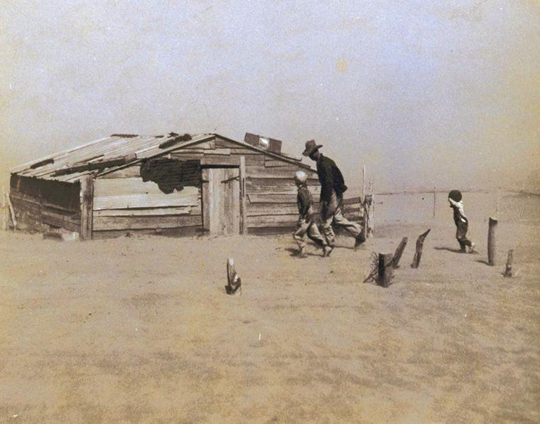 the dust bowl a period of Did active dunes and dust storms intensify the north american medieval   droughts of multidecadal duration during the medieval period from about 800 ad  to.