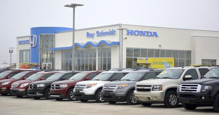 New honda dealership opens monday in effingham effingham for Honda dealers in chicago