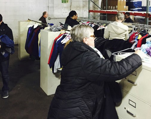 Keeping warm: United Way distributes coats to Elkhart students, women's shelter