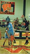 Wells volleyball loses, rebounds