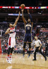 George scores 40, Pacers make 19 3s to beat Wizards 123-106