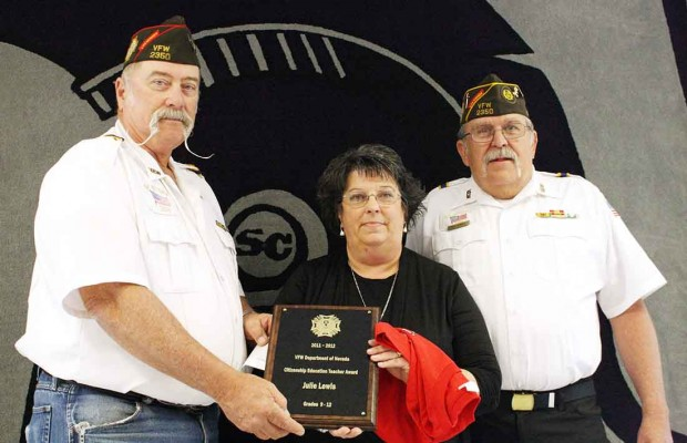 vfw of the year vfw awards two teachers