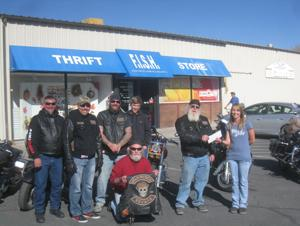 Motorcycle group raises money for local nonprofit