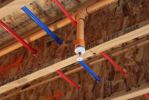 Residential Fire Sprinkler System