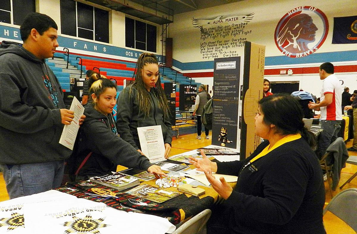 owyhee high school has college and career fair 2017 lifestyles owyhee high school has college and career fair 2017