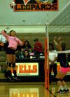 Lady Leopards finish in three on homecoming