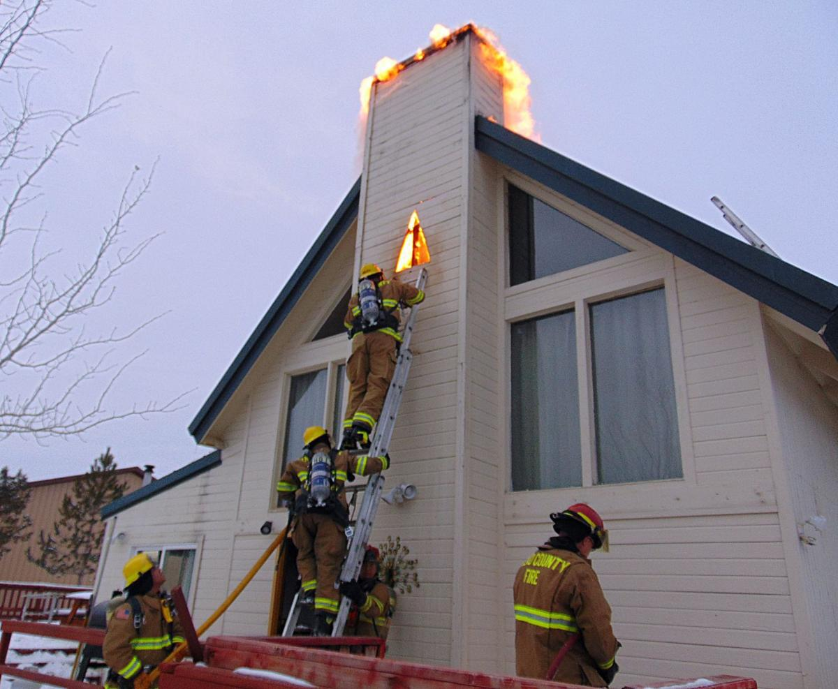 Chimney Fire In Spring Creek Damages Home Local