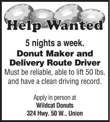 Donut Maker and Deliver Route Driver