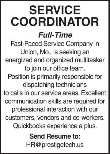 Service Coordinator