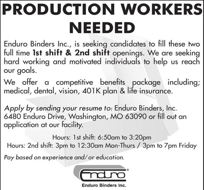 Workers Needed