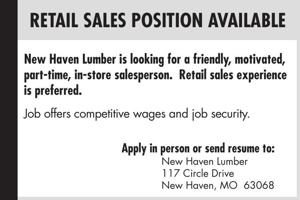 Retail Sales Position