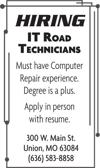 IT Road Technicians