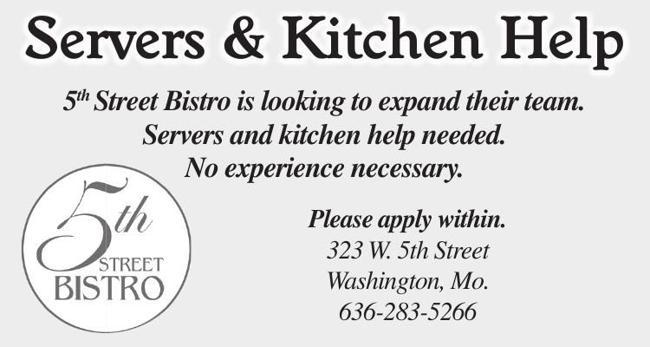 Servers & Kitchen Help