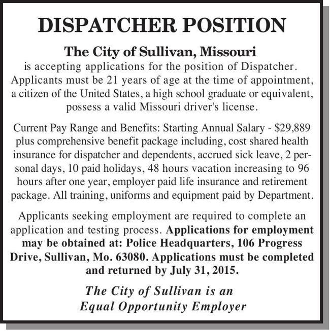 Dispatcher Position