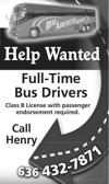 Full Time Bus Drivers