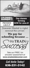 Coldwell Banker Premier - We Train for Success!