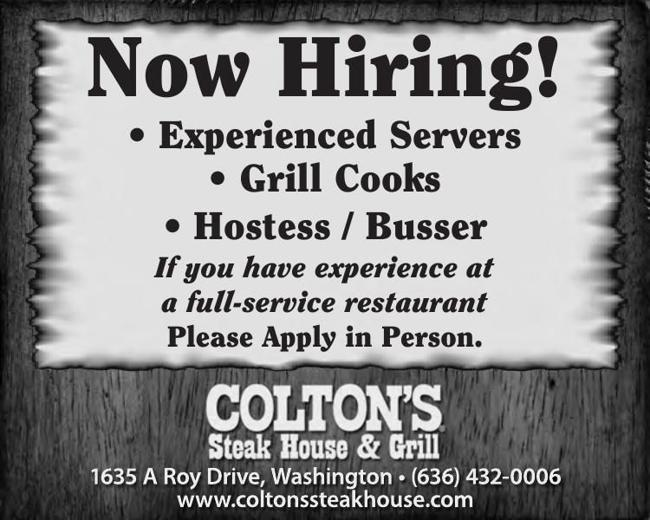 Restaurant Positions Available