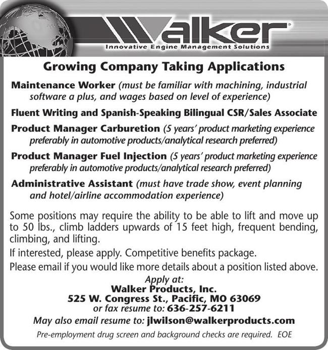 Multiple Positions Available!