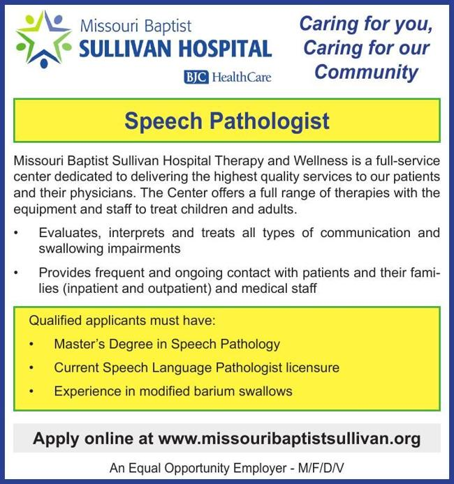 Speech Pathologist