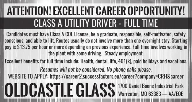 Class A Utility Driver