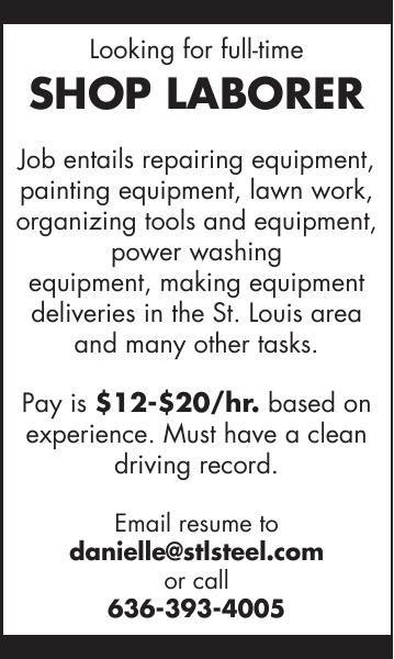 Shop Laborer