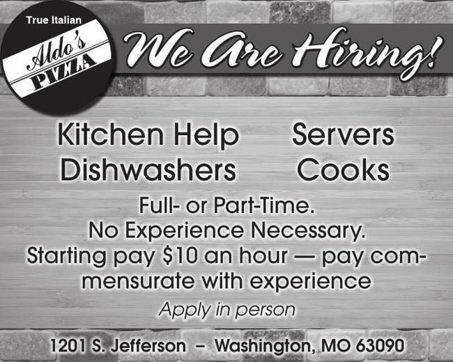 Restaurant Positions Open