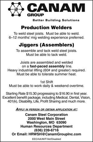 Production Welders & Jiggers