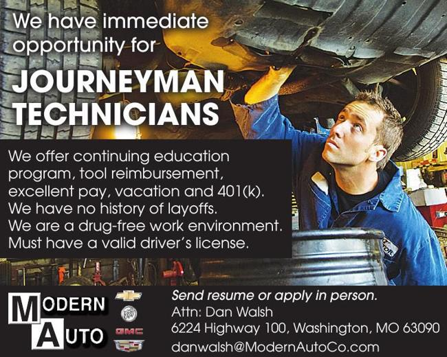 Journeyman Technicians