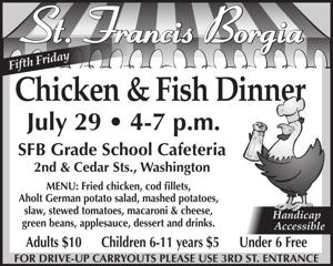 Chicken & Fish Dinner
