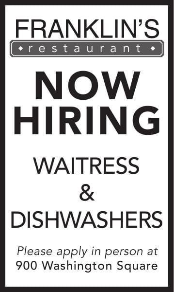 Waitress & Dishwashers