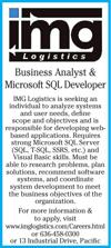 Business Analyst & Microsoft SQL Developer