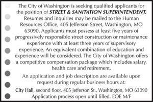 Street & Sanitation Superintendent