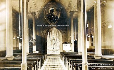 Sanctuary After 1912 Renovation