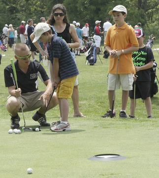 Franklin County Junior Golf Holds Clinic