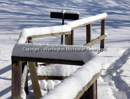 Snowfall at Shaw Nature Reserve