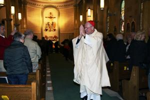 Cardinal Dolan Mass at SFB church