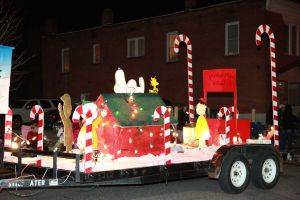 Downtown Parade of Lights Friday