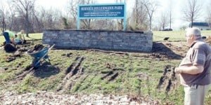 Beautify Hillermann Park Sign
