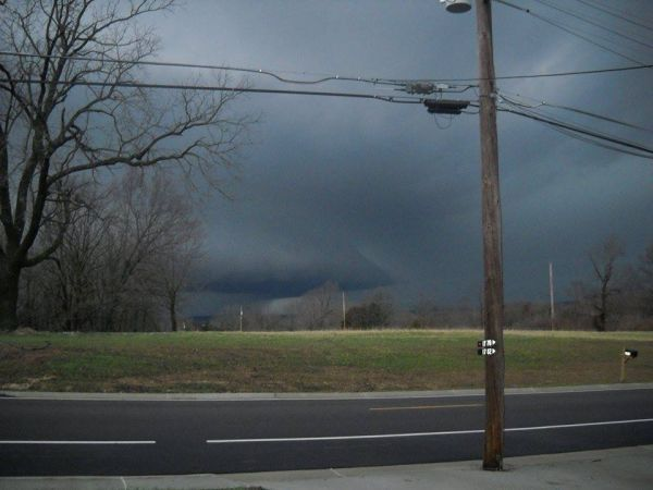 Shelf Cloud at Pottery Rd.