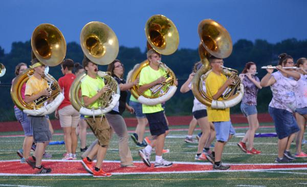 009 UHS Band practice 2014.jpg