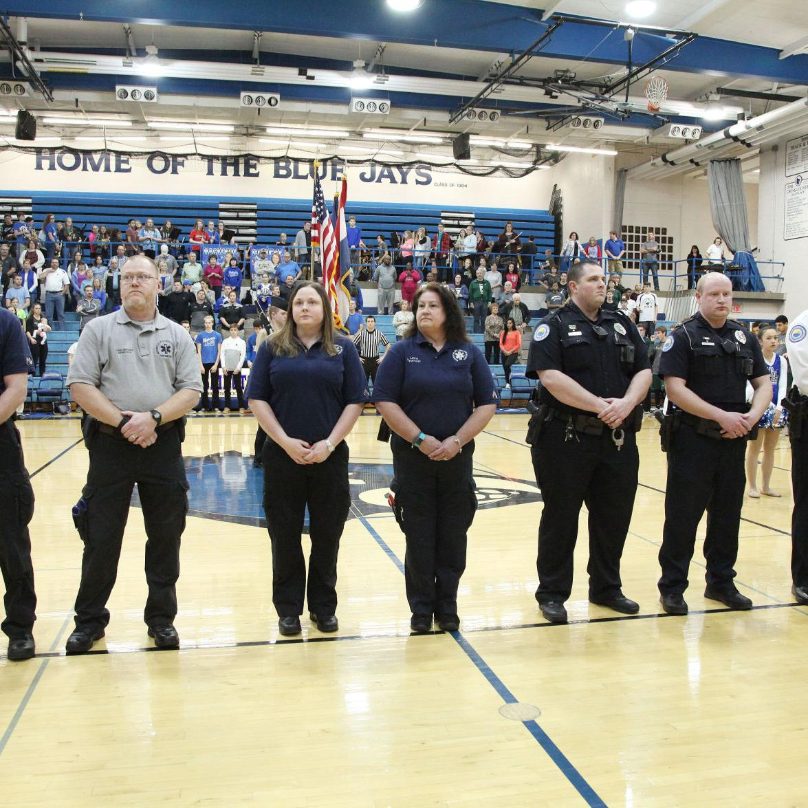 WHS Honors First Responders 2017