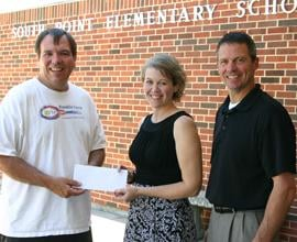 Donates Funds for Classroom iPad