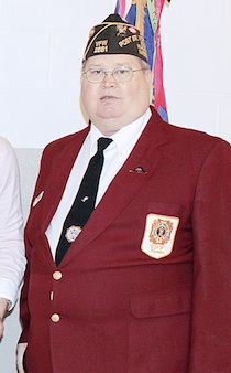 Washington VFW Post 2661 Commander Kurt Gansmann