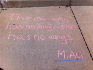 Chalk Poem 2